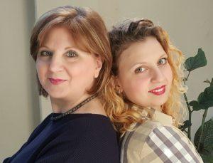 Mina e Mary del blog impastando a quattro mani