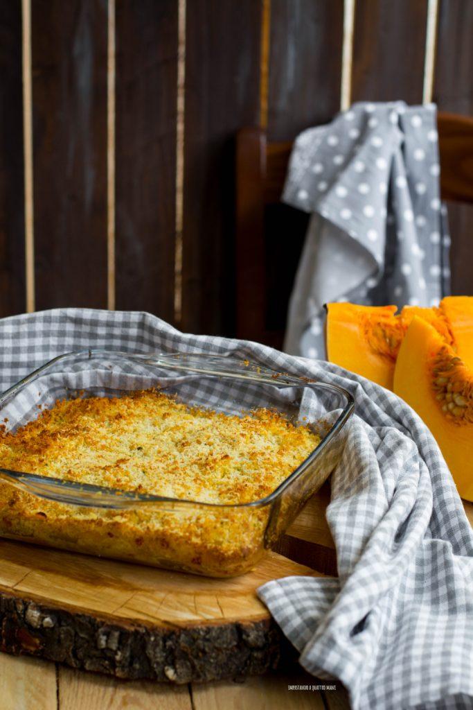parmigiana di zucca al forno senza frittura