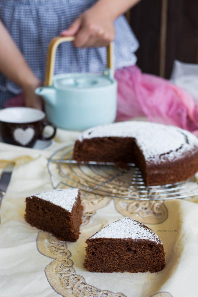 torta al cioccolato e formaggio