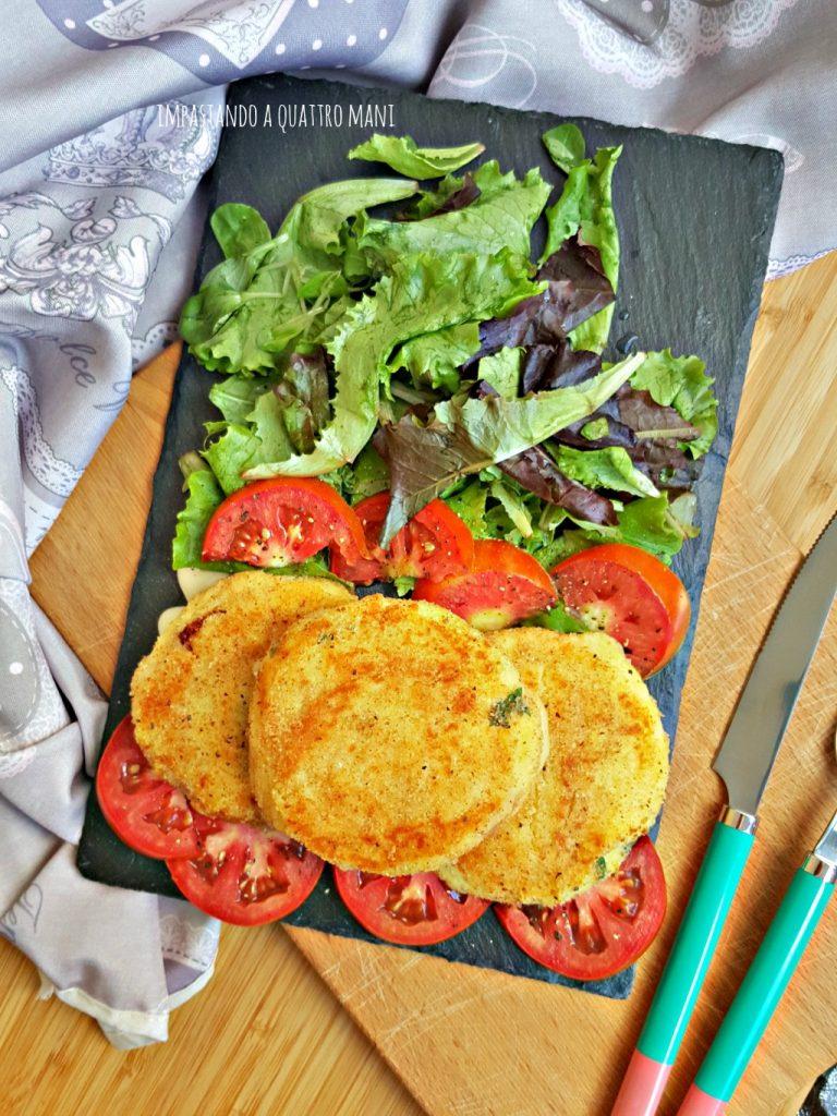 cordon bleu di patate con cotto e provola