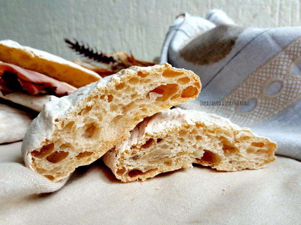 pane ciabatta a lievitazione naturale