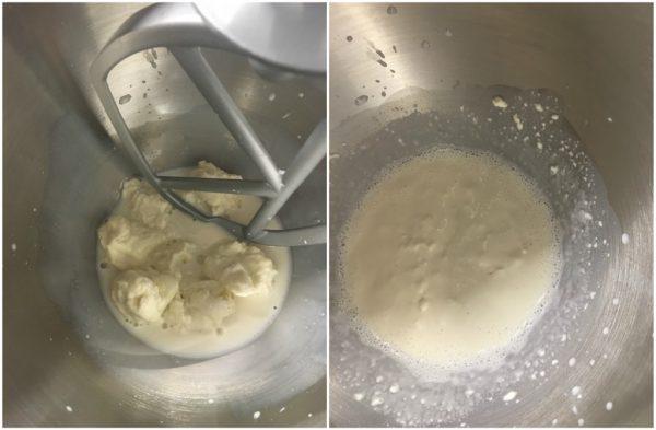 preparazione del pan bauletto a lievitazione naturale