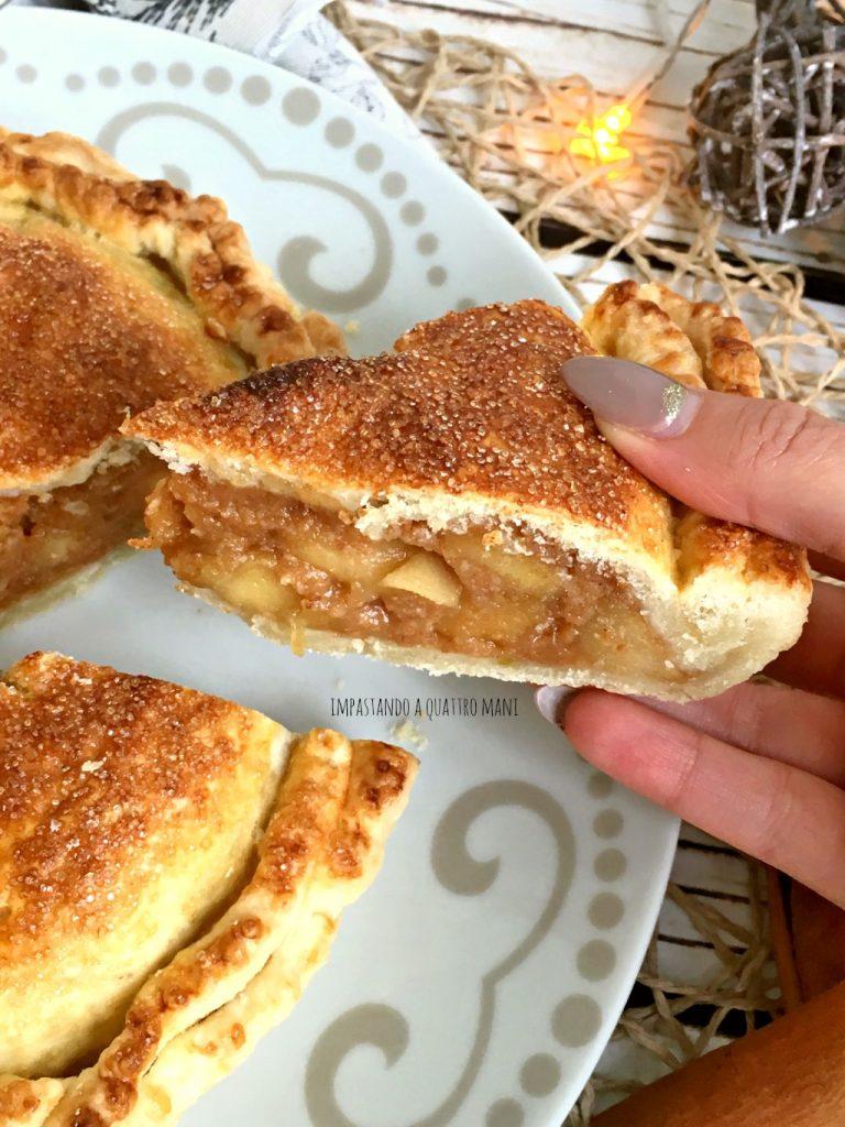 apple pie torta di mele americana di nonna papera