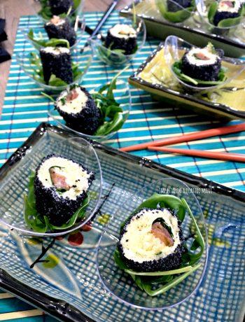 finto sushi di pancarré