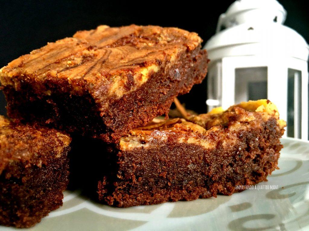 nutella brownies cheesecake