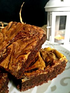 nutella brownies cheesecake con mascarpone