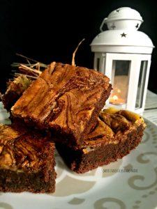 nutella brownies cheesecake con mascarpone e nutella