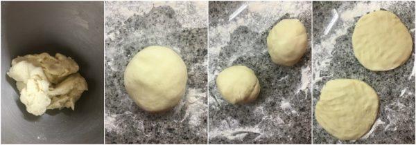 preparazione apple pie torta americana, pie crust