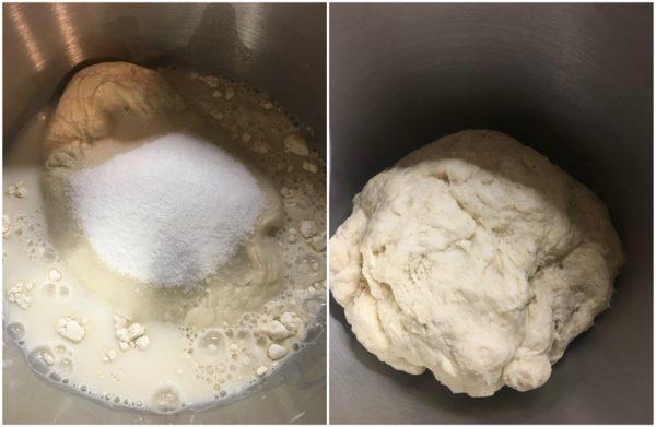 preparazione croissant sfogliati