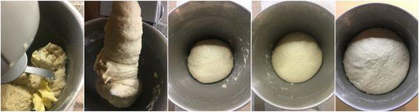 preparazione impasto croissant sfogliati francesi
