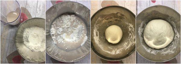 preparazione croissant preimpasto