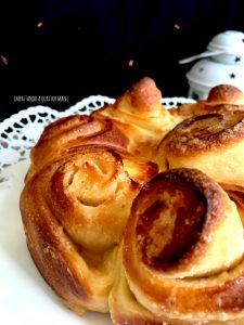 torta di rose con lievito madre