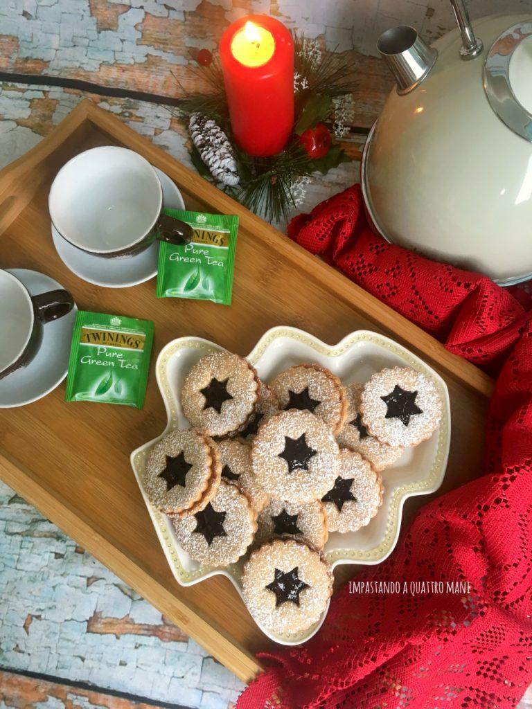 linzer cookies, biscotti austriaci, ricetta natalizia
