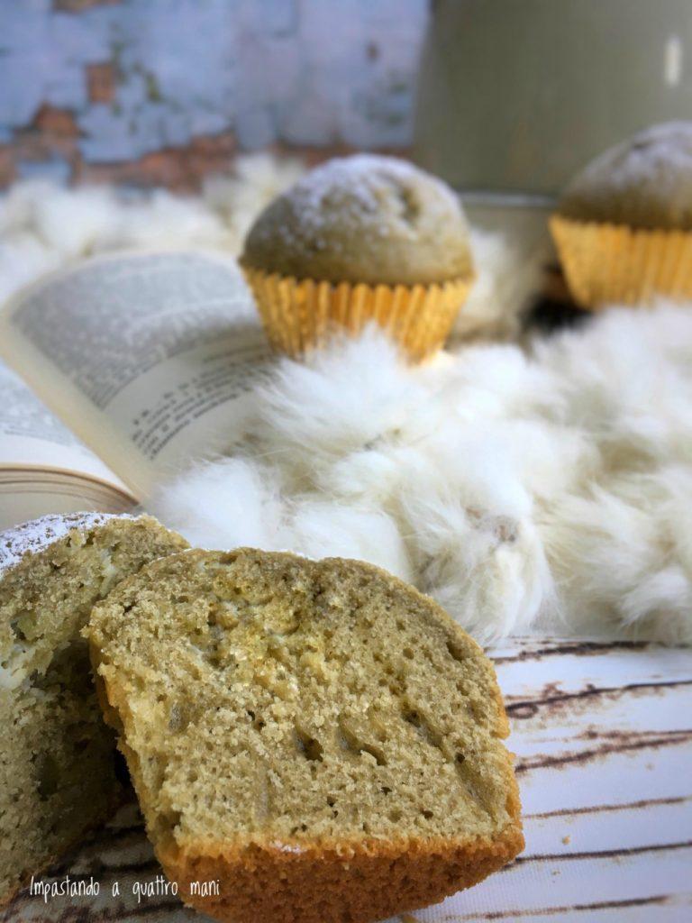 muffin al pistacchio sofficissimi, ricetta facile e veloce