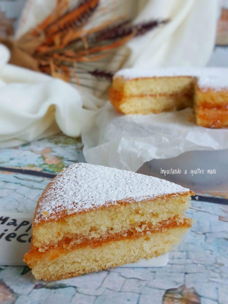 torta versata con ripieno che non scende sul fondo