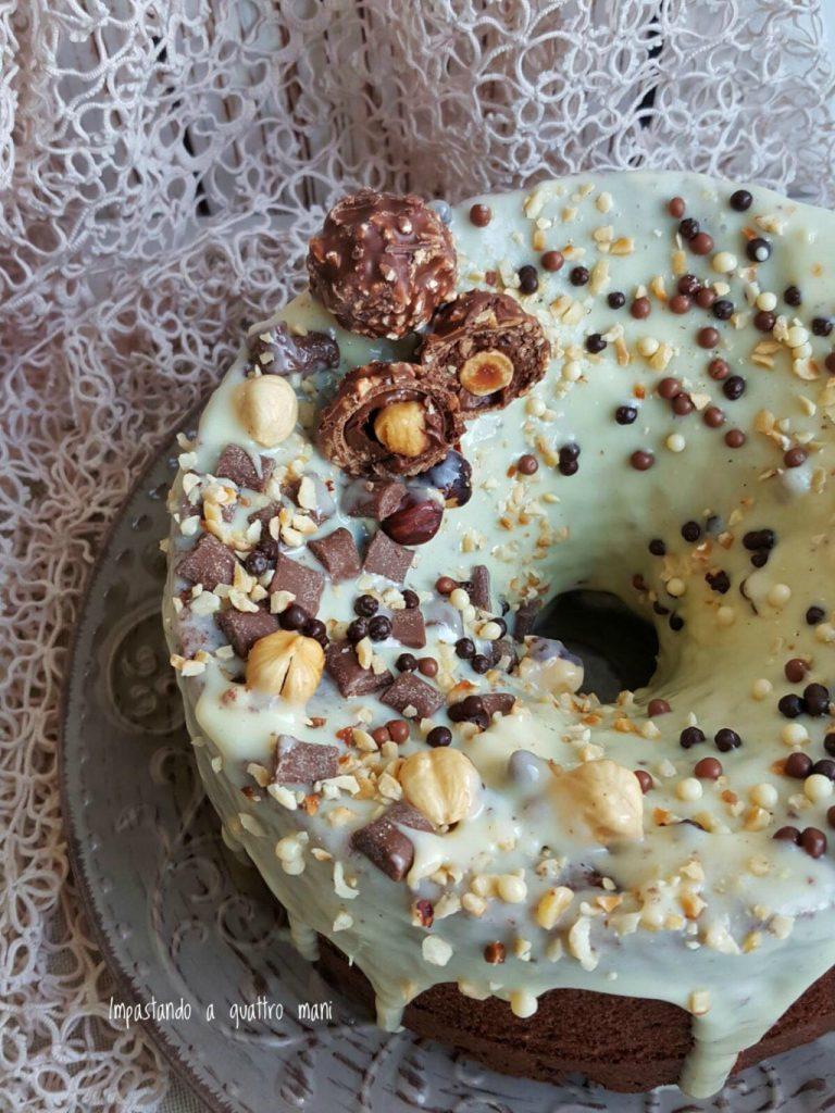 fluffosa al cacao, chiffon cake cacao e cioccolato bianco