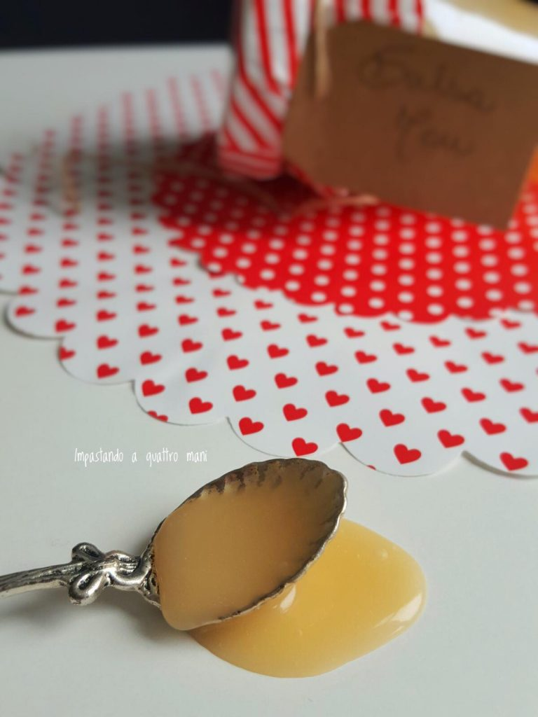 salsa mou, caramello in crema