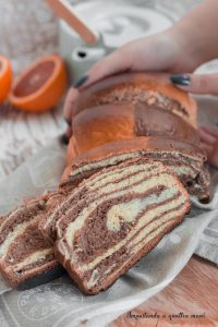 pan brioche arancia e cacao con metofo tang zhong