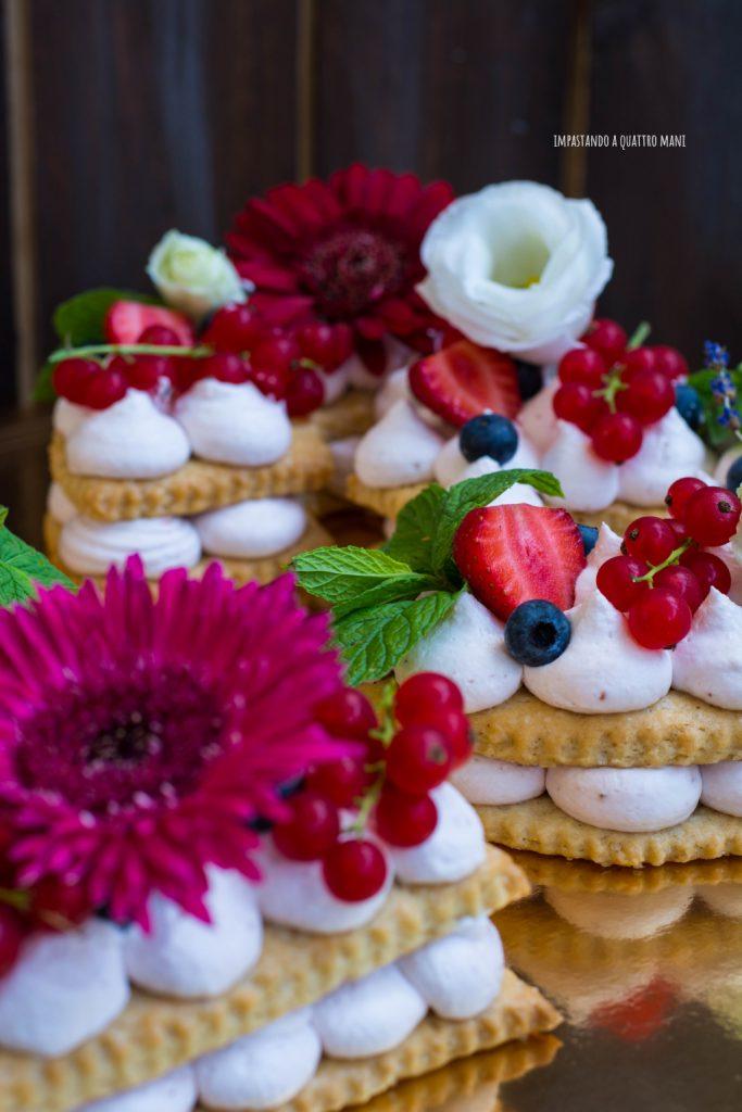 cream tart vegana, frolla vegana, crema vegana, torta di compleanno