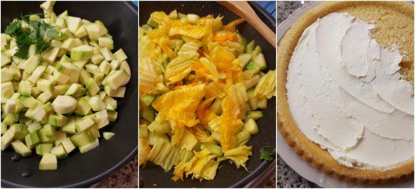 preparazione crostata morbida salata