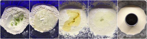 preparazione torta all'acqua