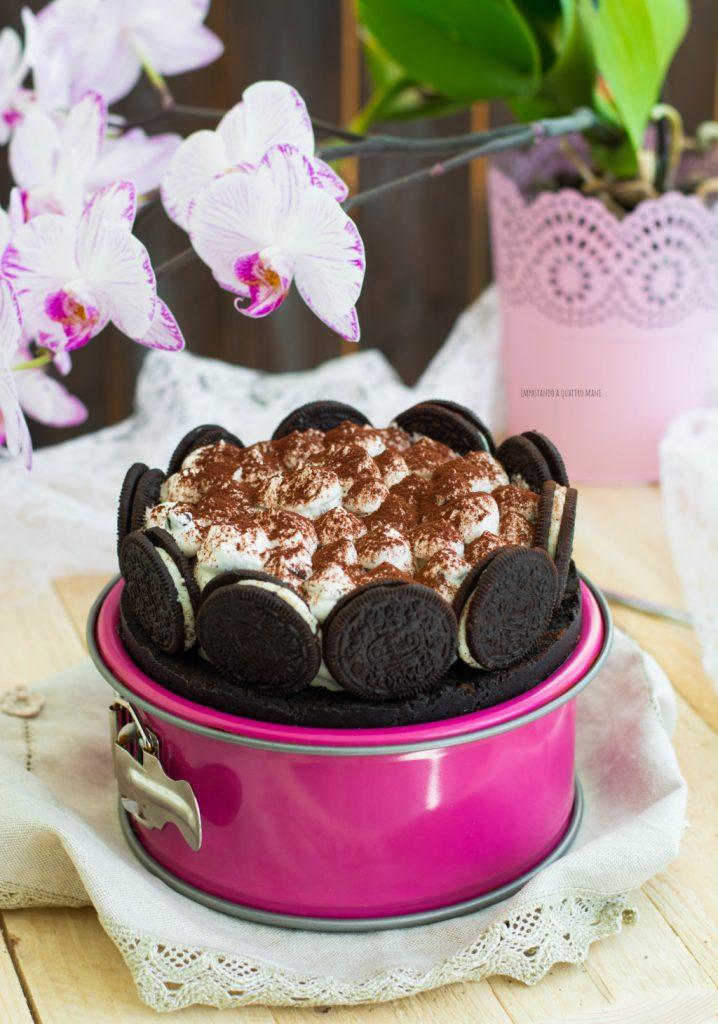 torta gelato oreo senza gelatiera