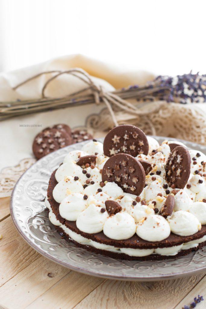 cream tart pan di stelle senza cottura